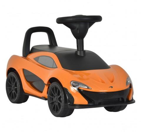 Mclaren P1 Push Ride On Car Orange, Unisex, 3Y+ (Orange)
