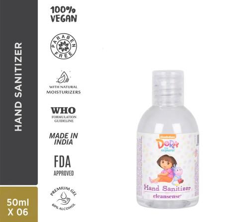 Cleansense Dora Gel Hand Sanitizers 50Ml, Unisex, 2Y+