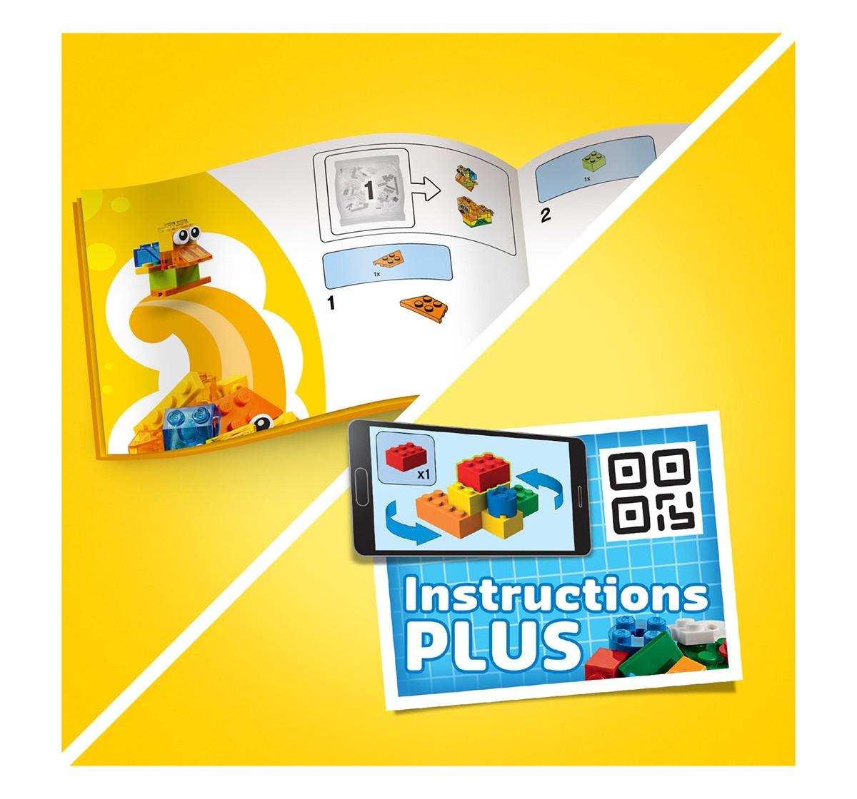 LEGO Creative Transparent Bricks Lego Blocks for Kids age 4Y+