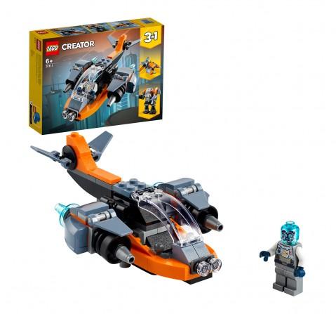 LEGO Cyber Drone Lego Blocks for Kids age 6Y+