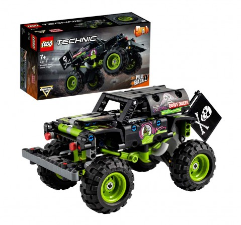 Lego Monster Jam® Grave Digger® Lego Blocks for Kids Age 7Y+
