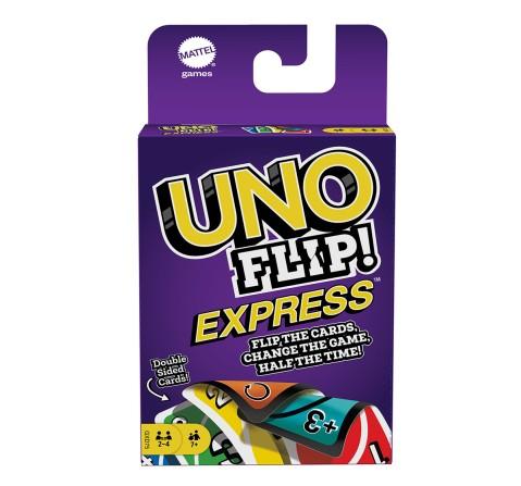 Mattel Games UNO Flip Express, Unisex, 7Y+ (Multicolor)