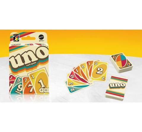 Mattel Games UNO Iconic 1970S, Unisex, 7Y+ (Multicolor)