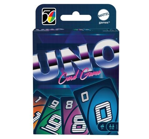 Mattel Games UNO Iconic 1980S, Unisex, 7Y+ (Multicolor)