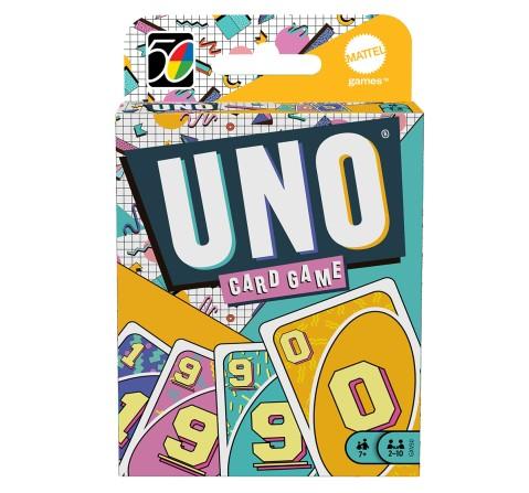 Mattel Games UNO Iconic 1990S, Unisex, 7Y+ (Multicolor)