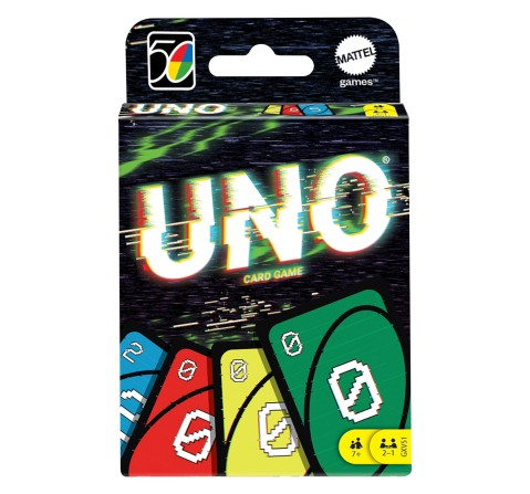 Mattel Games UNO Iconic 2000S, Unisex, 7Y+ (Multicolor)