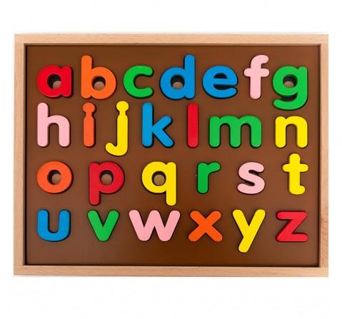 Hilife English Alphabet Puzzle 3 Layers Lowercase, Unisex, 3Y+ (Multicolor)