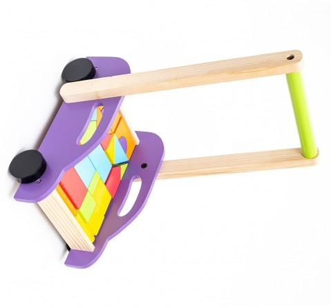 Hilife Roll & Run Puzzle Cart, Unisex, 3Y+ (Multicolor)