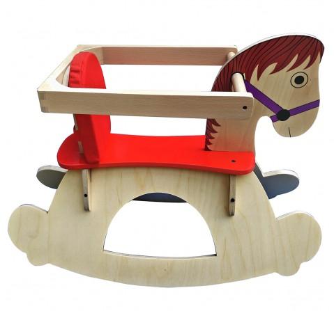 Hilife Rocking Horse, Unisex, 3Y+ (Multicolor)