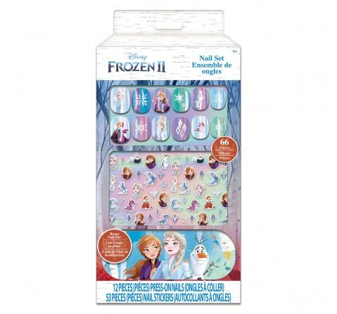 Townley Girl Disney Frozen Press On Nail Set, Girls, 5Y+ (Multicolor)