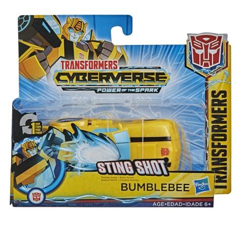 Transformers Cyberverse Action Attackers: 1 Step Changer Bumblebee Action Figure Toy, Boys, 7Y+ (Multicolor)