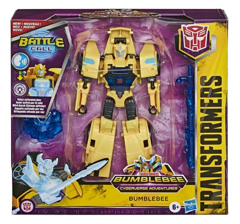 Transformers Cyberverse Battle Call Trooper Class Assorted, Boys, 7Y+ (Multicolor)