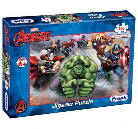 Frank Marvel Avengers Jigsaw Puzzle (108 Pc), 6Y+