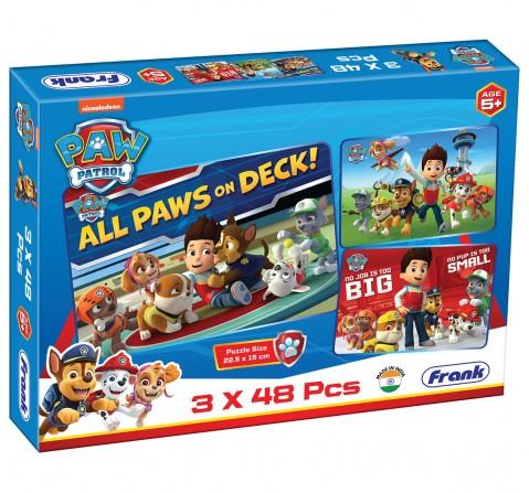 Paw Patrol - 3 x 48pcs Jigsaw Puzzle, 5Y+