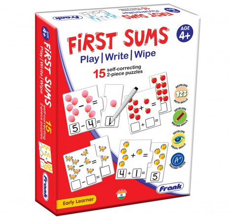 Frank First Sums Activity Puzzle, 4Y+