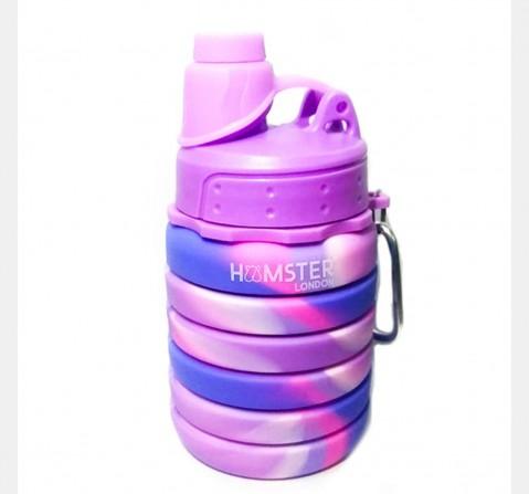 Hamster London Bendable Bottle Pink Purple, 4Y+