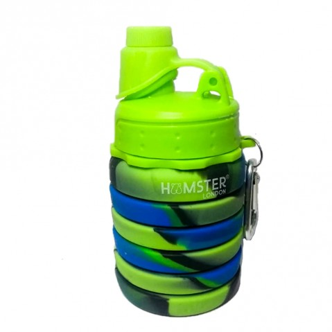Hamster London Bendable Bottle Green, 4Y+