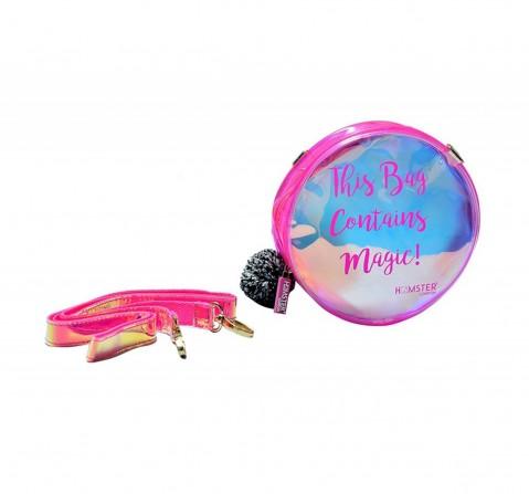 Hamster London Pom Pom Sling Pink, 6Y+