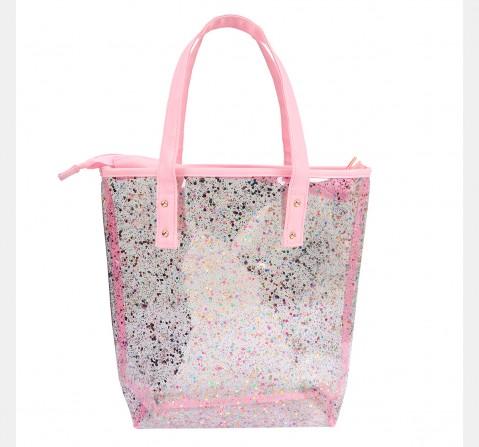 Hamster London Glitter Tote Bag Pink, 6Y+