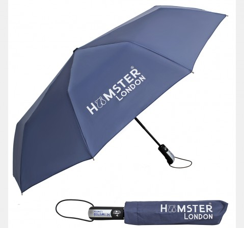 Hamster London Auto Open & Close Umbrella Blue, 8Y+