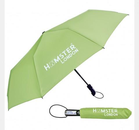 Hamster London Auto Open & Close Umbrella Green, 8Y+