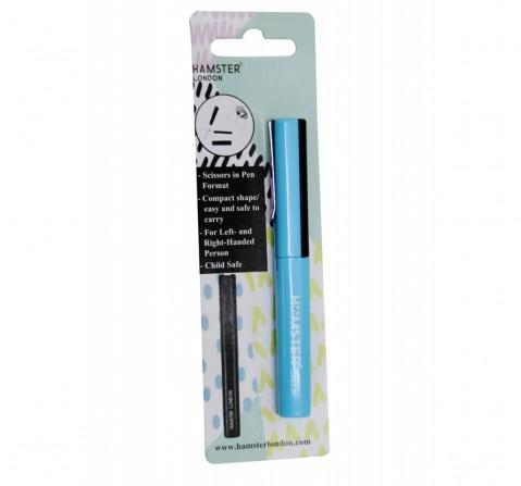 Hamster London Pen Shape Scissor Blue, 6Y+