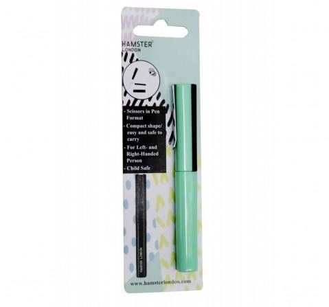 Hamster London Pen Shape Scissor Green, 6Y+