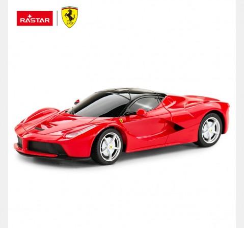 Rastar 1:24 Ferrari Laferrari Remote Control Car, 2Y+ (Multicolor)