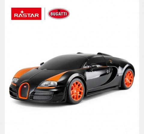 Rastar 1:24 Bugatti Grand Sport Vitesse Remote Control Car, 2Y+ (Multicolor)