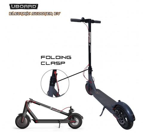 Uboard Electric Scooter Ev, 12Y+ (Black)