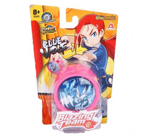 Blazing Team Primary Blue Wolf Yo-Yo for Boys age 5Y+