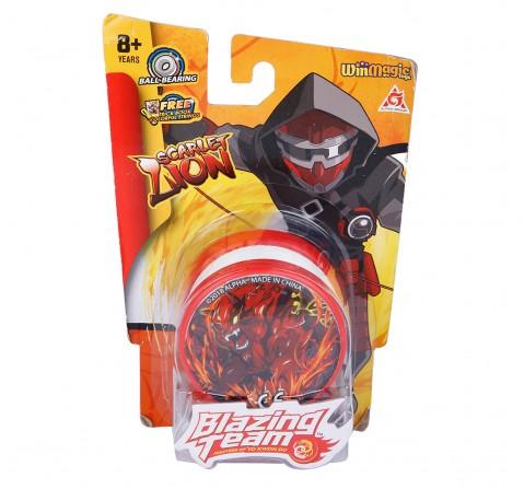 Blazing Team Primary Scarlet Lion Yo-Yo for Boys age 5Y+