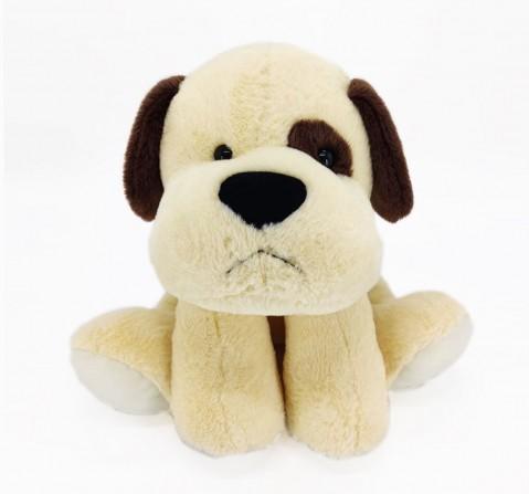 Dimpy Toys Sitting Dog 42 Cm Coffee, Unisex, 3Y+(Multicolor)