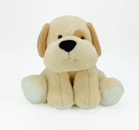 Dimpy Toys Sitting Dog 42 Cm Brown, Unisex, 3Y+(Multicolor)