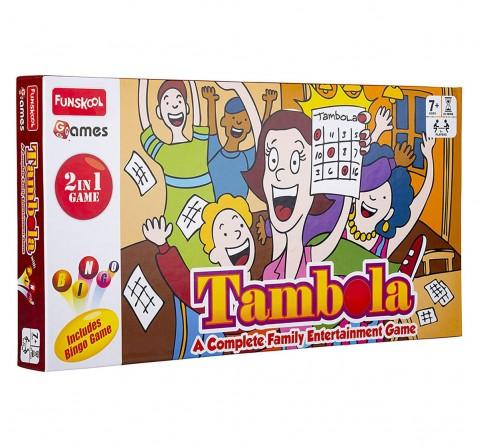 Funskool  Tambola 2 In 1 Game, 4Y+ (Multicolor)
