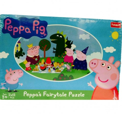 Funskool Peppa Pig Fairy Tale 2In1 Puzzle, 2Y+ (Multicolor)