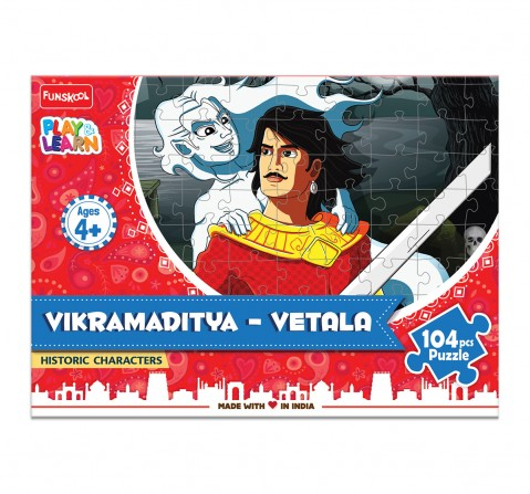 Play & Learn Vikramaditya - Vetala Puzzle 104 Pcs, 2Y+ (Multicolor)