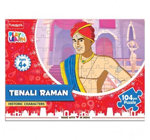 Play & Learn Tenali Raman Puzzle 104 Pcs, 2Y+ (Multicolor)