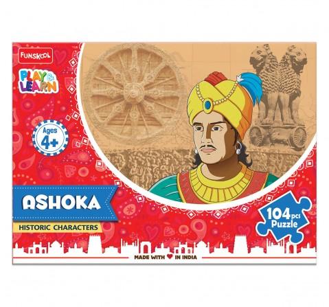 Play & Learn Ashoka Puzzle 104 Pcs, 2Y+ (Multicolor)