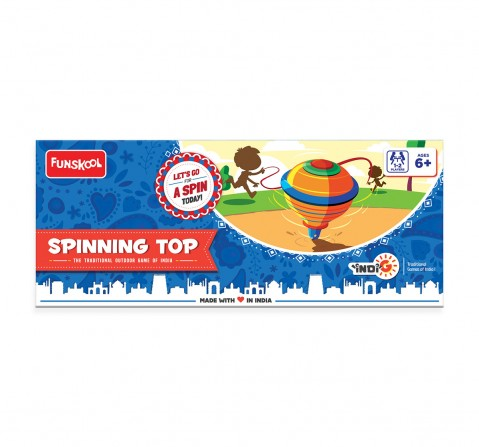 """Funskool Spinning Top """"Folktale Toys"""", 6Y+"""