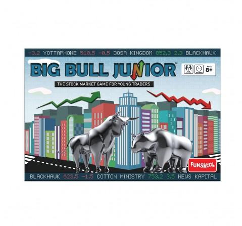 Funskool  Big Bull Junior, 4Y+ (Multicolor)