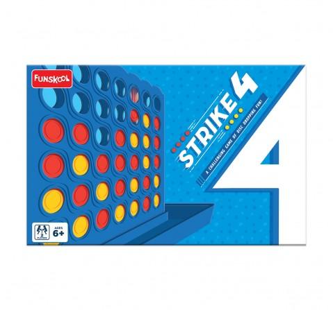 Funskool  Strike 4, 4Y+ (Multicolor)