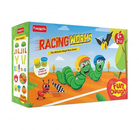 FunDough  racing worms, 3Y+