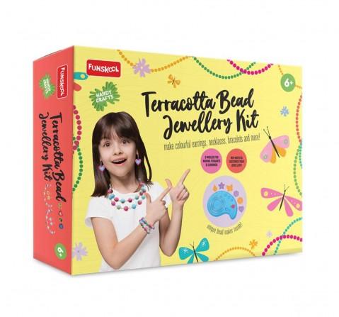 Handycraft Ne Terracotta jewellery Kit (Multi color)