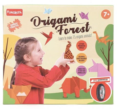 Handycraft NE Origami Forest (Multi color), 4Y+