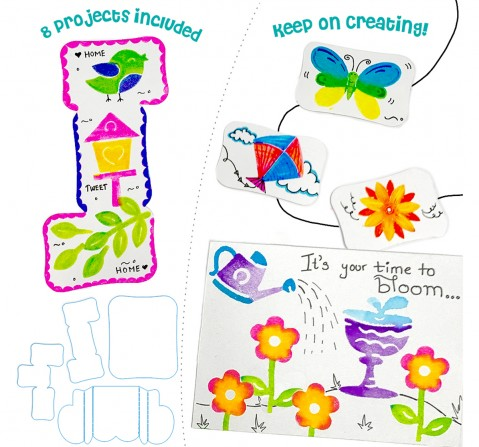 Imagimake Stamp Art Garden, 2Y+ (Multicolor)