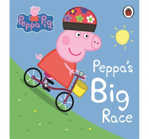 Peppa Pig : Peppa's Big Race, 16 Pages Book by Ladybird, Board Book