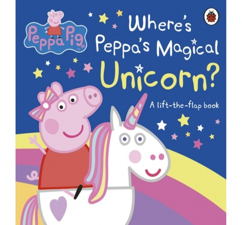 Peppa Pig: Where's Peppa's Magical Unico, 10 Pages Book by Ladybird, Board Book