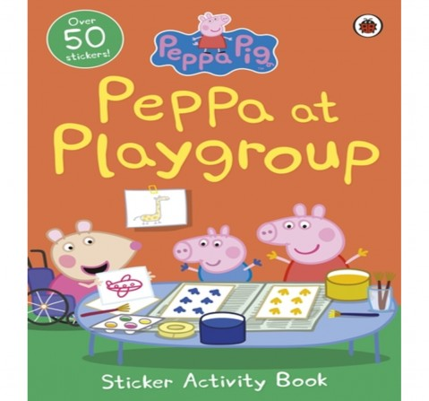 Peppa Pig: Peppa at Playgroup Sticker Ac, 16 Pages Book by Ladybird, Paperback