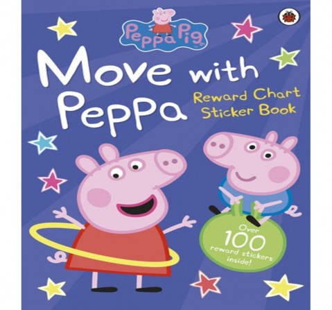 Peppa Pig : Move with Peppa, 16 Pages Book by Ladybird, Paperback